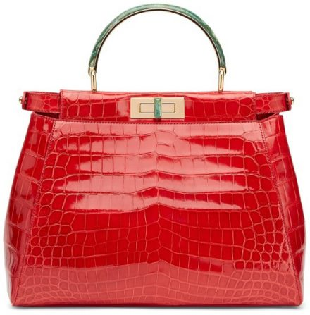 Fendi-Peekaboo-Tote-Shiny-Red-Peek-a-boo-project